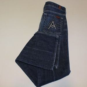 NWOT 7 for all Mankind A-Pocket Bootcut Jeans 27
